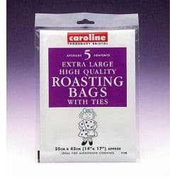 "Caroline Large Roasting Bags (5) - 14""x 17"" (30 x43cm)"
